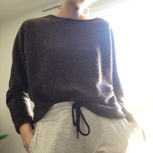 Brown H&M sweater